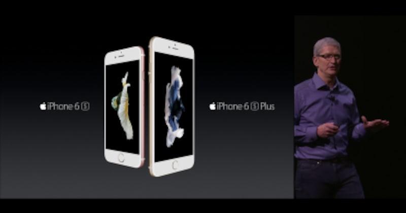 iPhone6S、6SPLUSがお目見えしました。