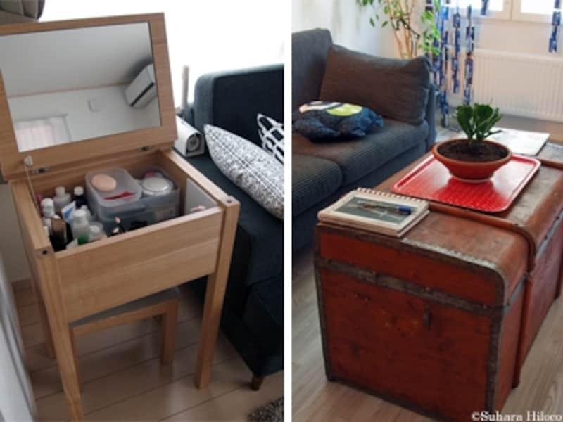 インテリアと収納家具