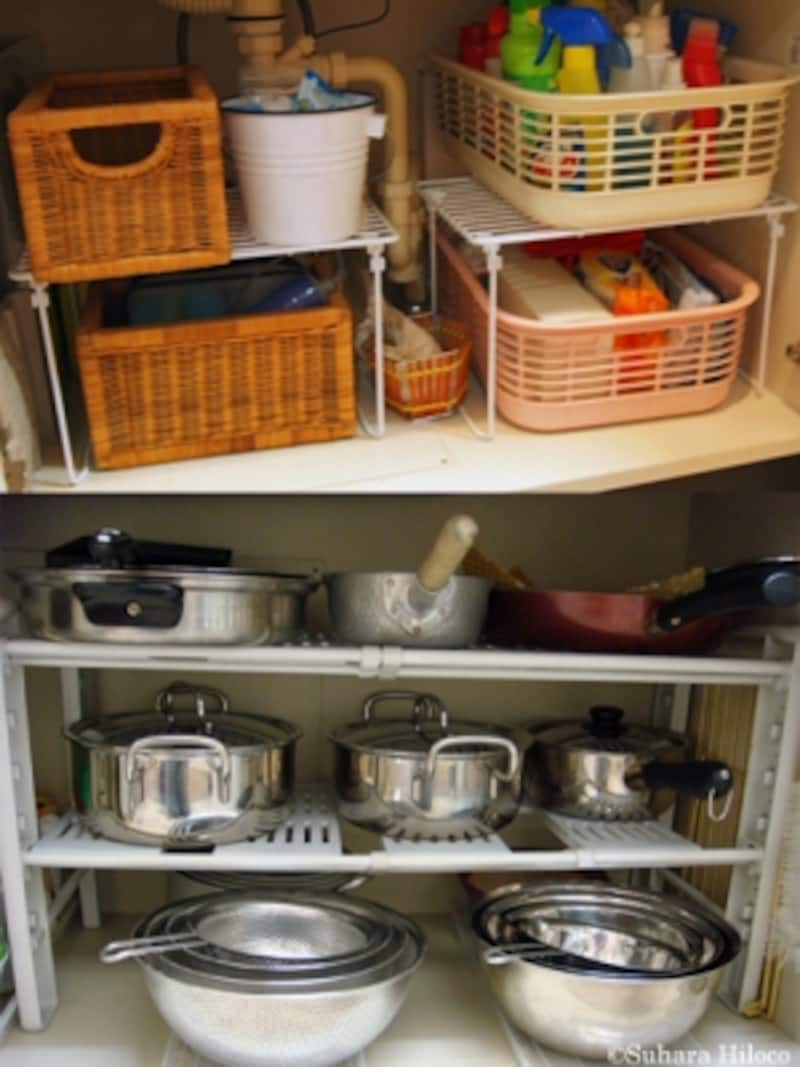 キッチン収納の100均グッズ