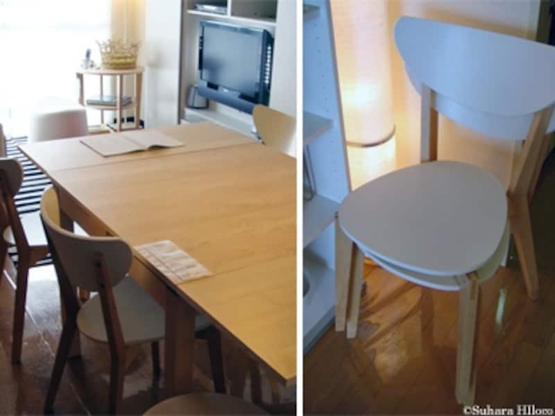 イケアのダイニング家具