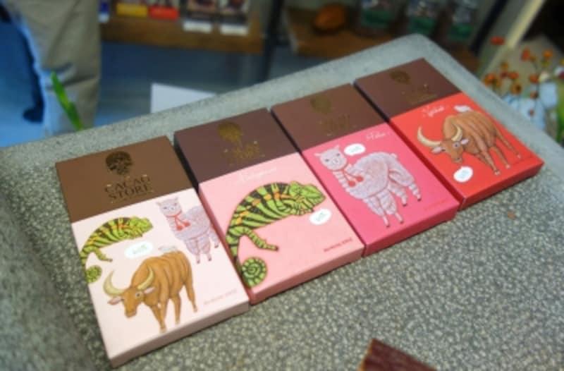 新作のオリジナルチョコレート4種