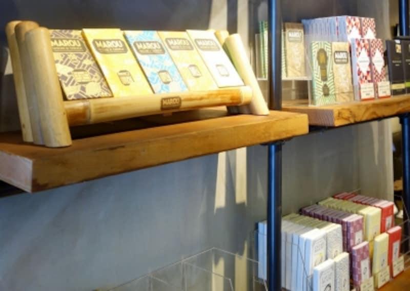 ベトナムの人気チョコレートMAROU(マルゥ)も店頭で購入できます。