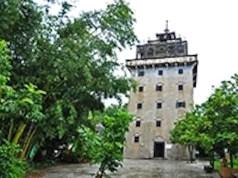 馬降龍、永安村の天禄楼