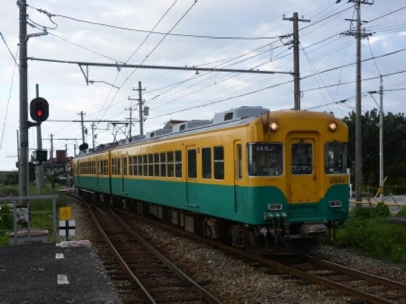富山地鉄の電車