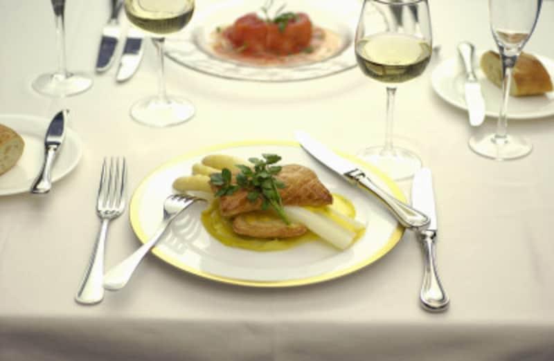 料理は会話でも楽しもう!
