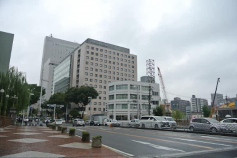 「プラウドタワー名古屋栄」の建設地周辺