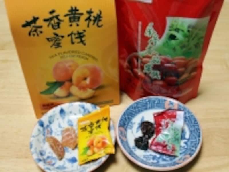 北京「天福茗茶の茶菓子」