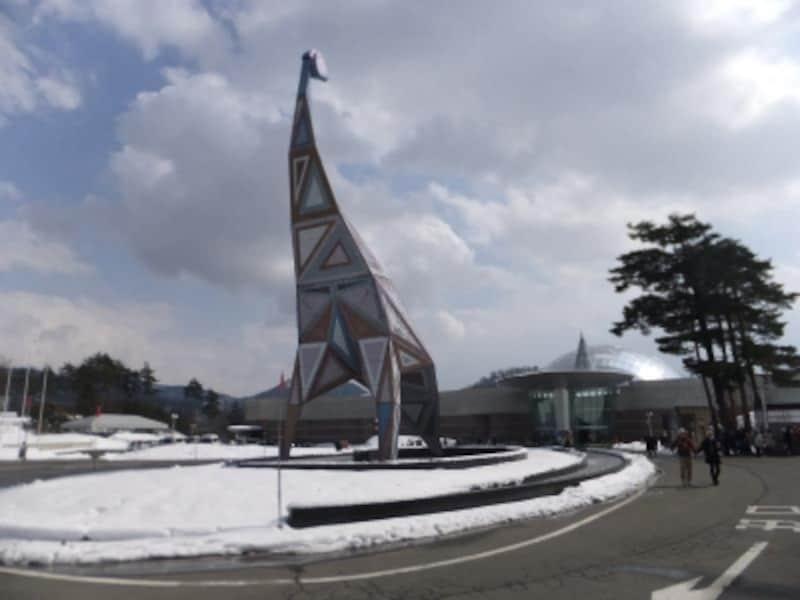 福井県立恐竜博物館(2)/正面玄関