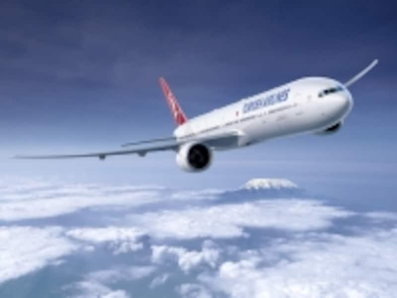 ハイクオリティな機内サービスに定評のあるトルコ航空は成田からイスタンブールまで毎日1便。(写真提供;ターキッシュエアラインズ)