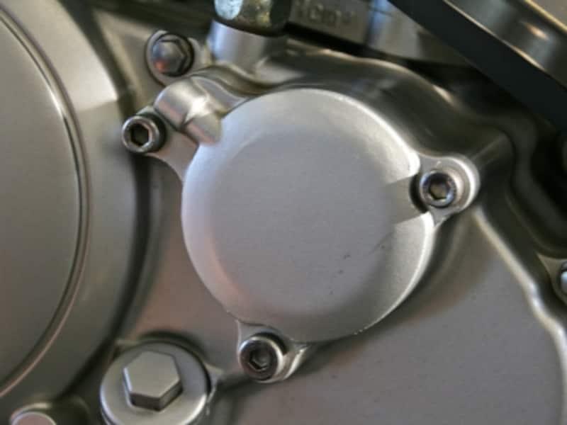 オイルフィルターカバーundefinedオイル漏れ