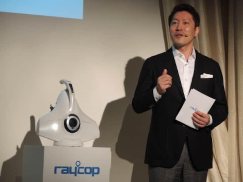 リ・ソンジン代表取締役社長も登壇。