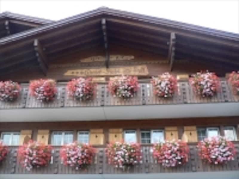 グリンデルワルトのホテル