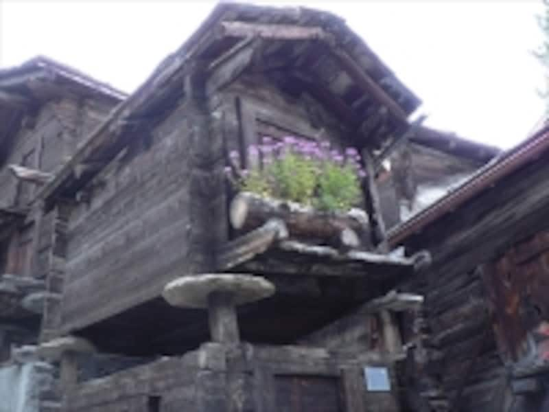 ツェルマットの古民家