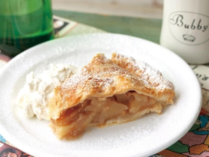 バビーズの定番「アップルパイ(650円税込)」。リンゴの自然な甘さがたまらない!(画像提供:M・R・S)