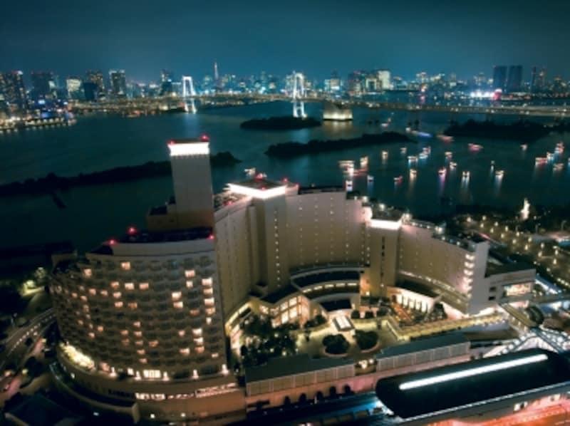 ヒルトン東京お台場、夜景