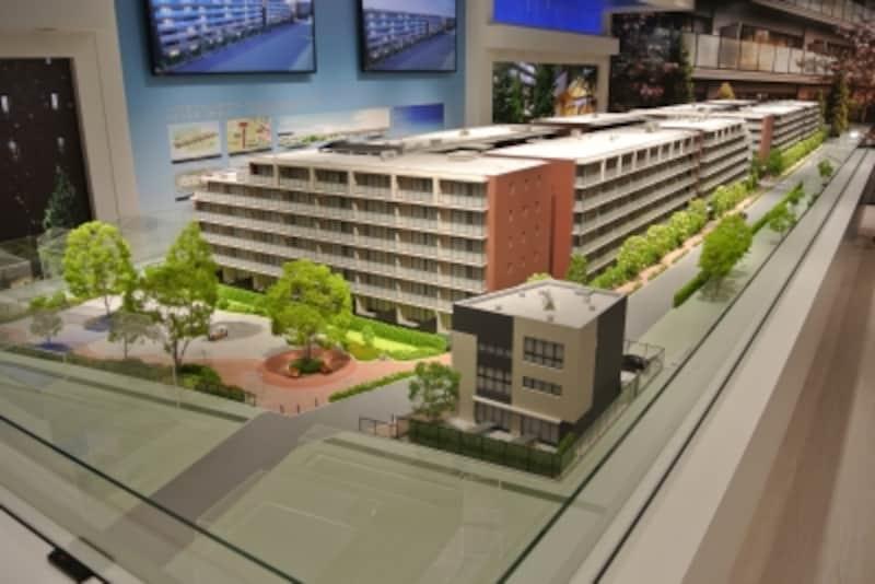 「ザ・パークハウス花小金井ガーデン」の完成予想模型