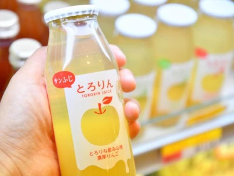 青森空港,とろりん,リンゴジュース