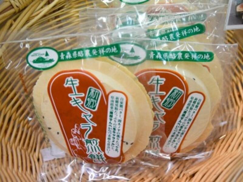 青森空港,生キャラ煎餅