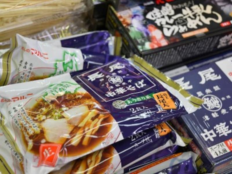 青森空港,煮干しラーメン,長尾中華そば