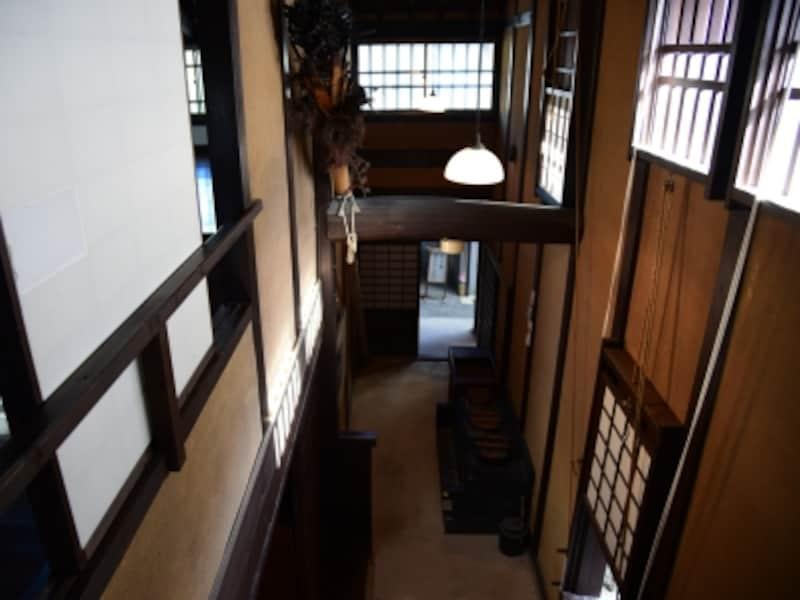 2階からの眺め