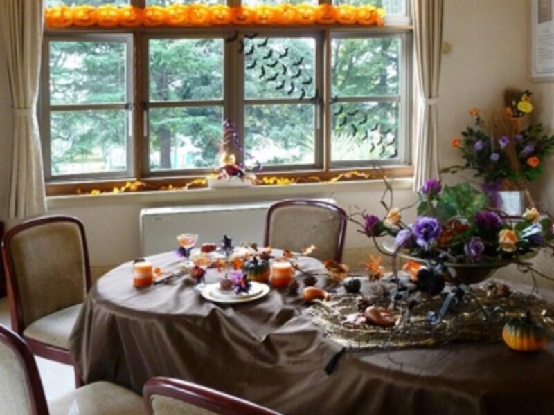 山手西洋館7館ではハロウィン装飾が行われます。2014年の様子(画像提供:山手西洋館)