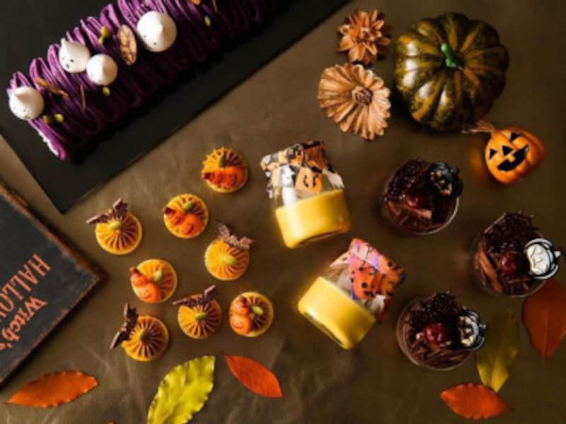 ナイトスイーツブッフェ「SweetsParade~AUTUMN(オータム)×HALLOWEEN(ハロウィン)」イメージ(画像提供:横浜ベイシェラトンホテル&タワーズ)