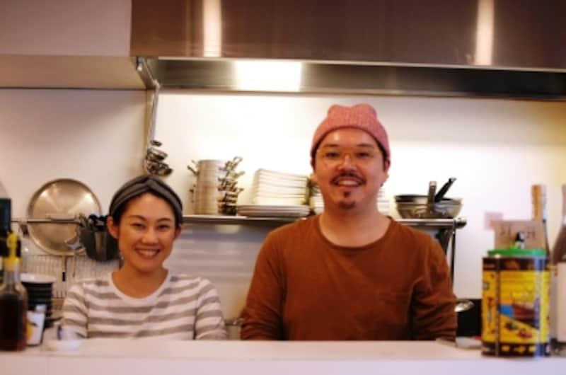 横内美恵さん、竹内悠介さん