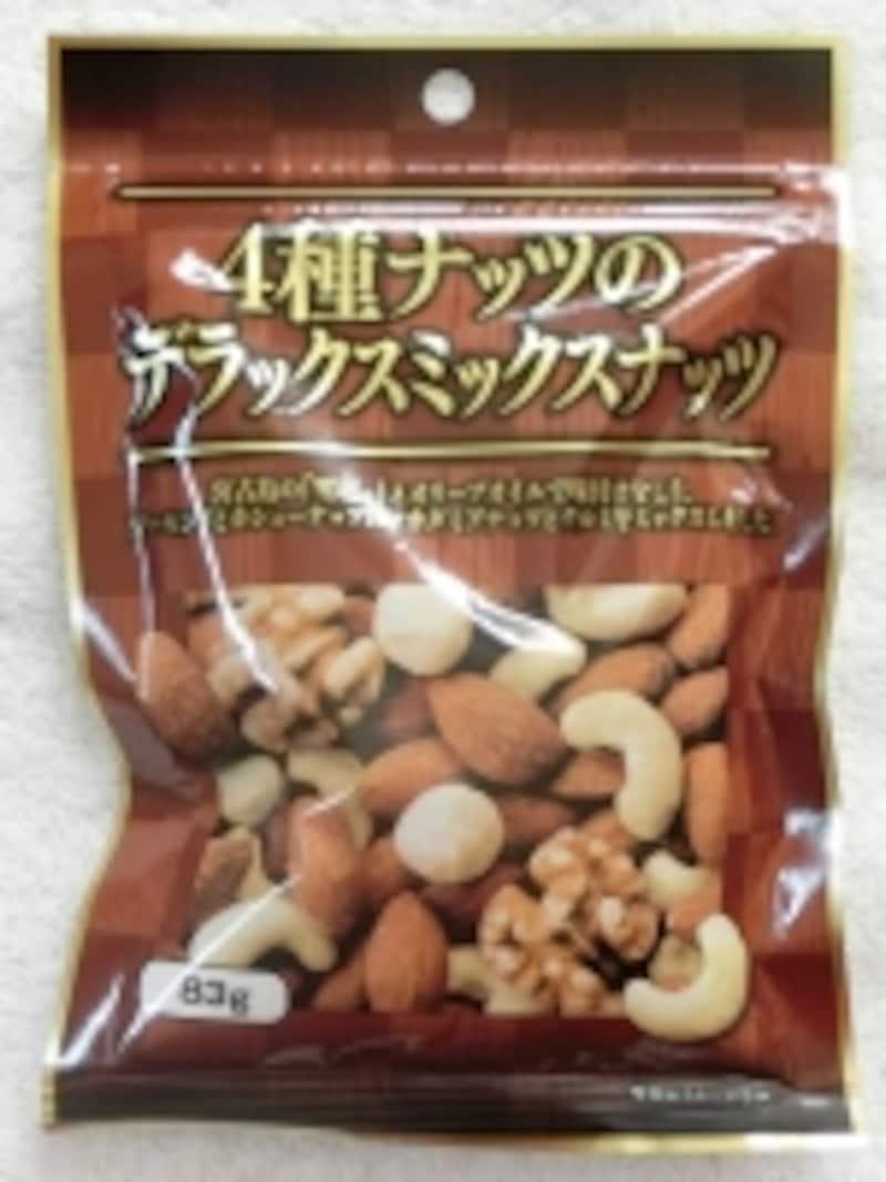 共立食品4種ナッツのデラックスミックスナッツ