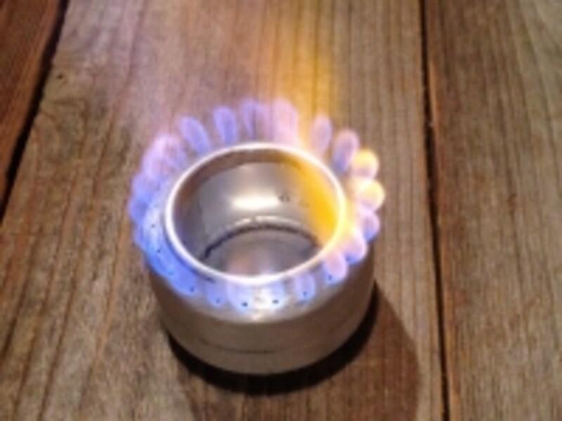アルミ缶ストーブ