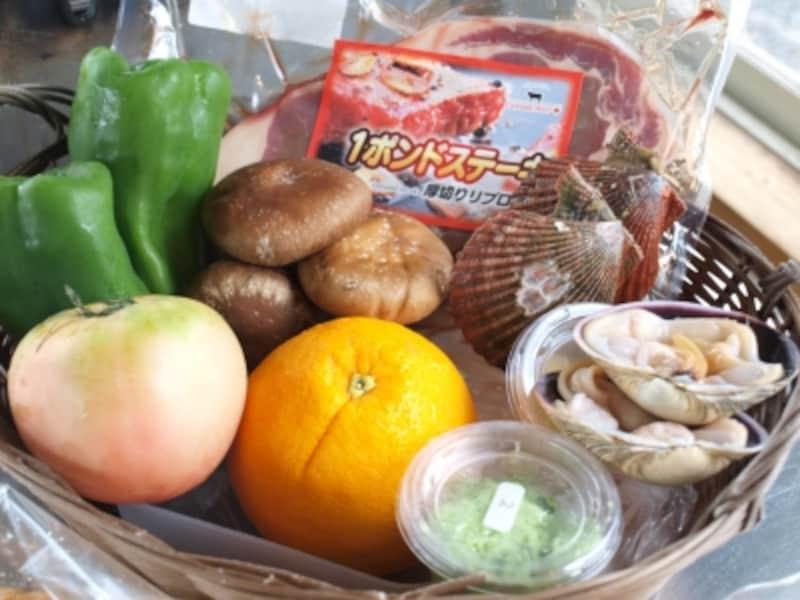 バーベキューの食材例