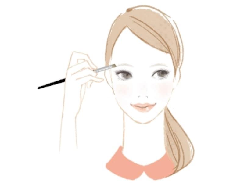 自分の顔立ちに合う眉メイクの方法
