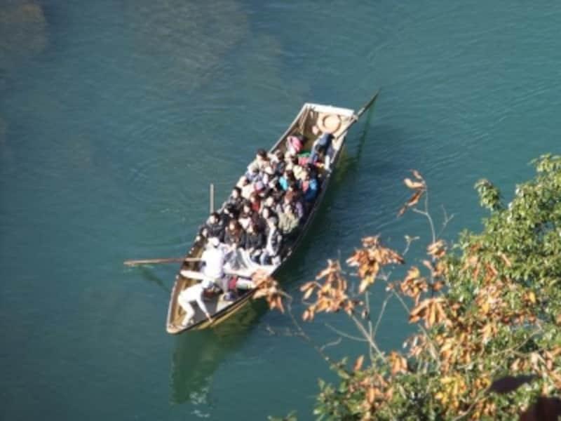 保津川下りの舟(1)
