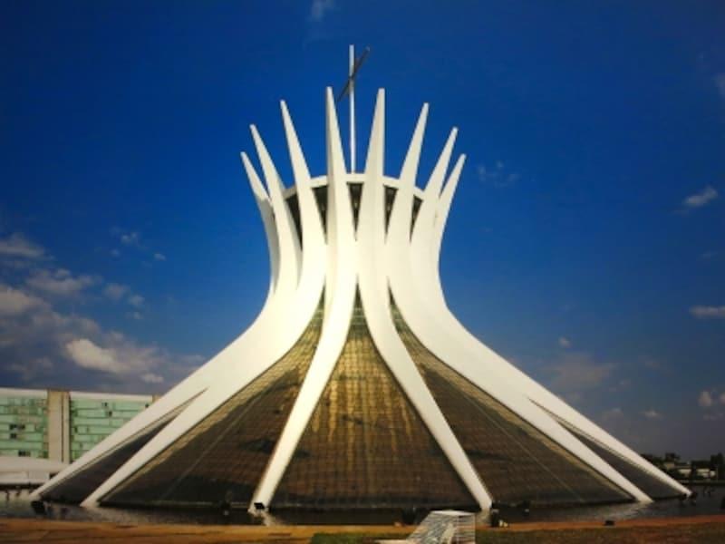 ブラジリア大聖堂の外観画像