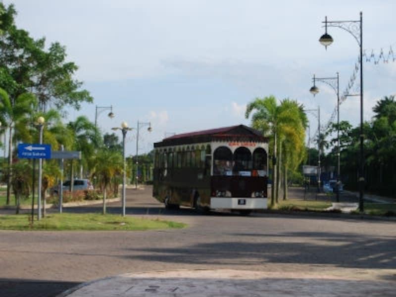 トレンガヌのローカルバス