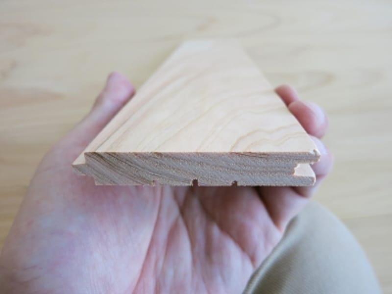 無垢の檜フローリングの表面画像undefined
