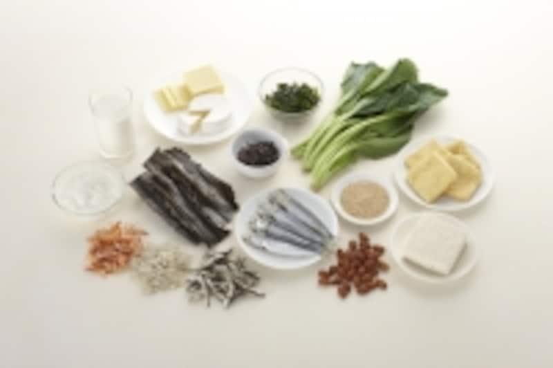 カルシウムが豊富に含まれる食材