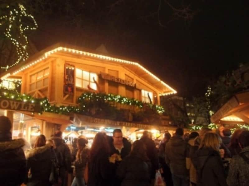 飲食店が集まるミュンスター広場