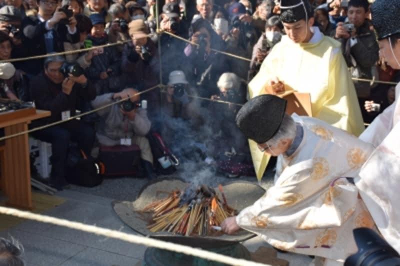 筆供養(荏柄天神社)