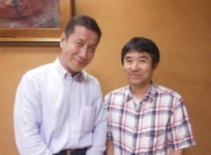 豊川孝弘七段とガイド
