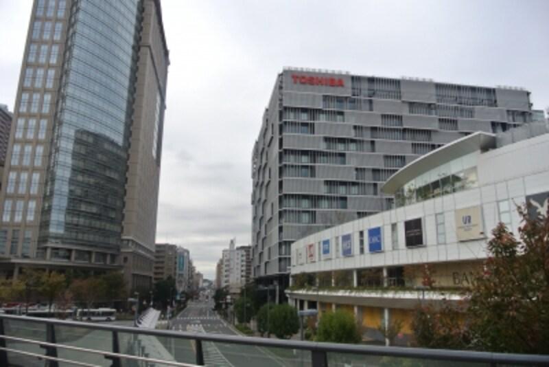 「川崎」駅前のラゾーナ川崎