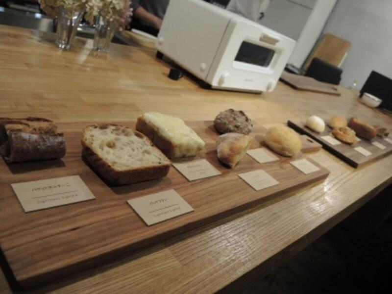 どう見ても美味そうなこのパンたちを、リベイクしたのである!