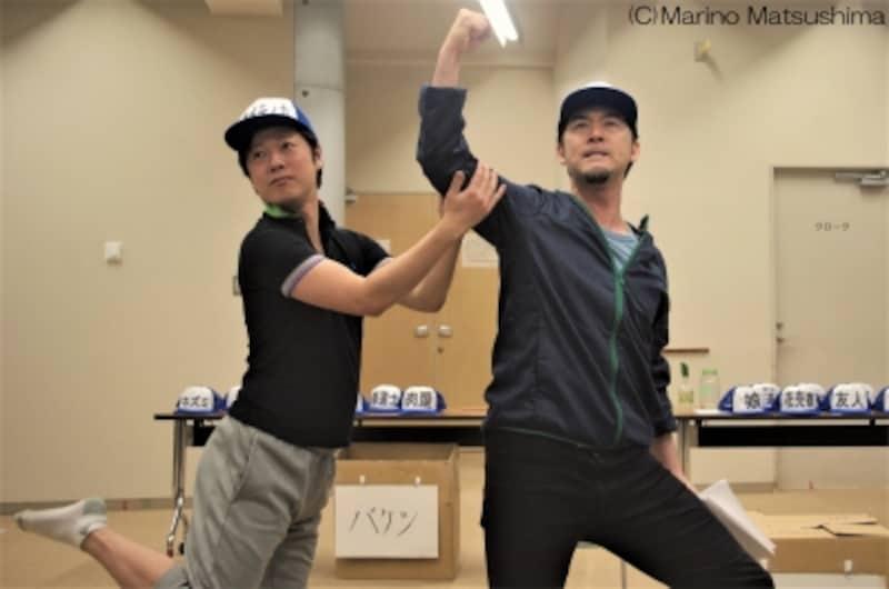 『グーテンバーグ!ザ・ミュージカル!』稽古より。(C)MarinoMatsushima