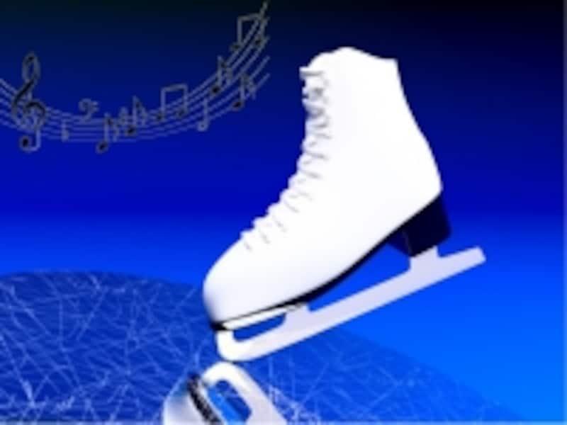 スケート靴の写真