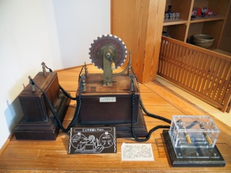 電池式エレキテル(模型)@石川県金沢港大野からくり記念館
