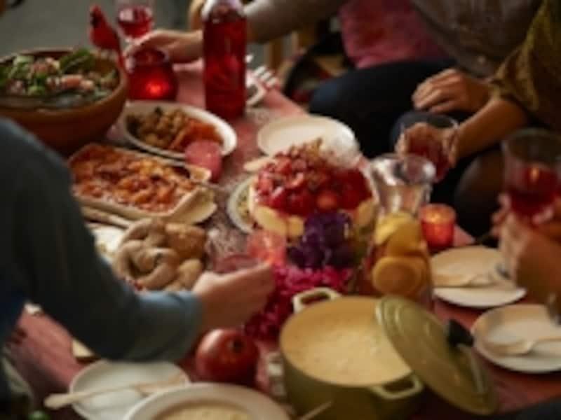 美味しい食事会が増える時期は、「太っちゃう」ではなくて、エクサとポジティブな気持ちで華麗に乗り切りましょう!