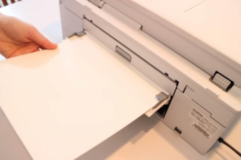背面印刷機能
