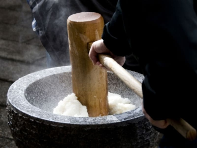 餅つきとは 餅つき由来・歴史・起源・意味