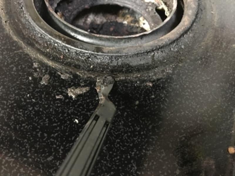 ガスコンロ周りの大掃除にも便利に使える