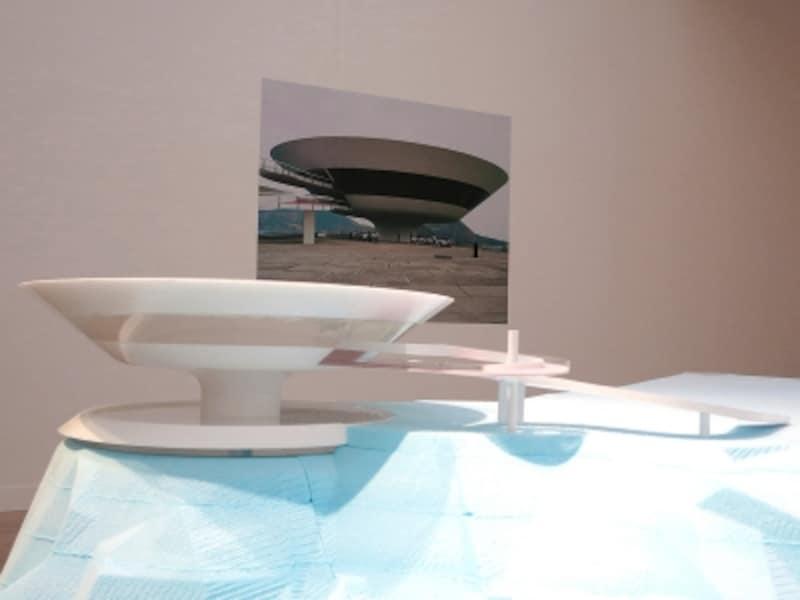 ニテロイ現代美術館/NiteroiContemporaryArtMuseumの模型画像2