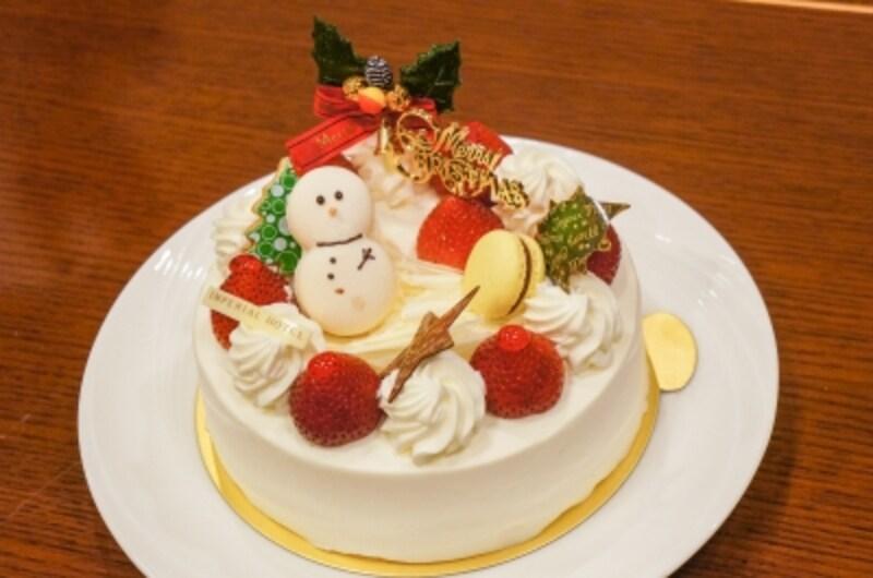 「クリスマスショートケーキ」(生クリーム/チョコレートクリーム)4,104円(12cm)/4,860円(15cm)/6,480円(18cm)(税込)
